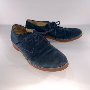 Tommy Hilfiger Honeybee Leather Suede Oxford Shoes